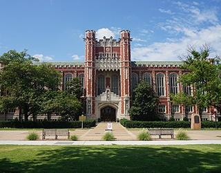 view of University of Oklahoma
