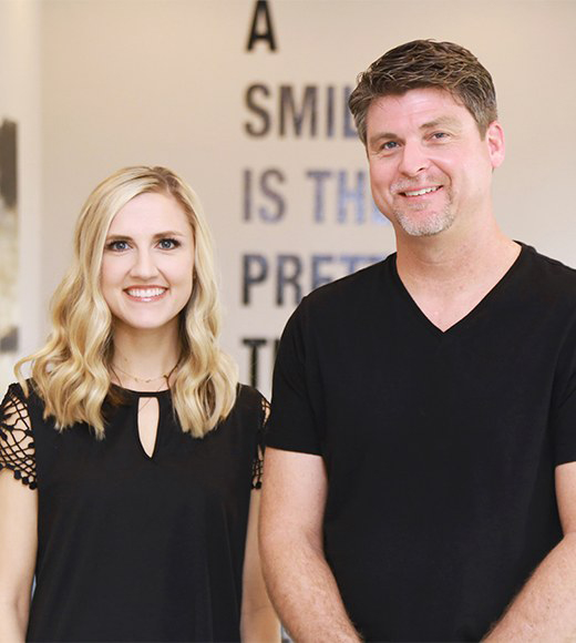 Mangum dentists Dustin C Lively and Brittany Hand