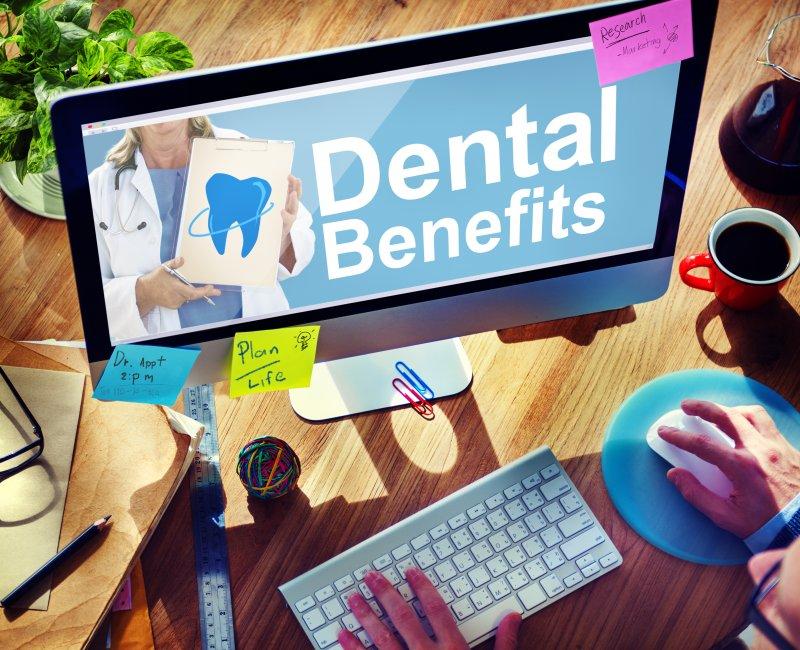 computer with Dental Benefits in Mangum